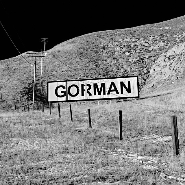 billboard. gorman, ca. 2011.