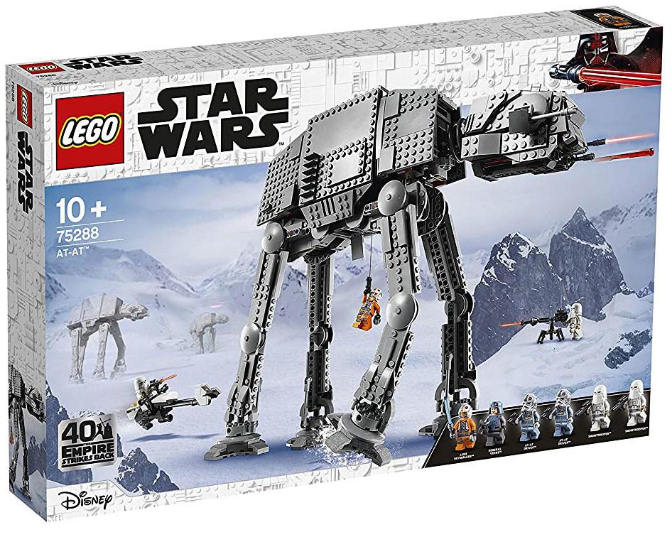 傲人的帝國走獸強勢歸來! LEGO 75288《星際大戰》全地域型裝甲載具 (Star Wars AT-AT) 公開~