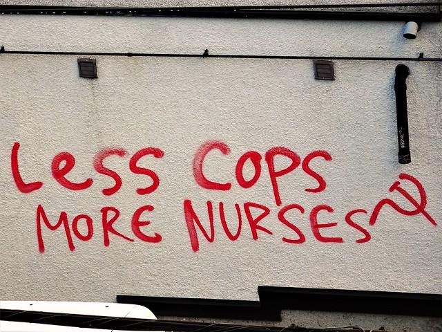Less Cops More Nurses