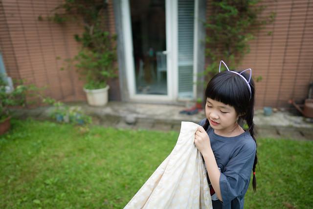 小梨覺得衣服聞起來很香,沒有臭臭的味道