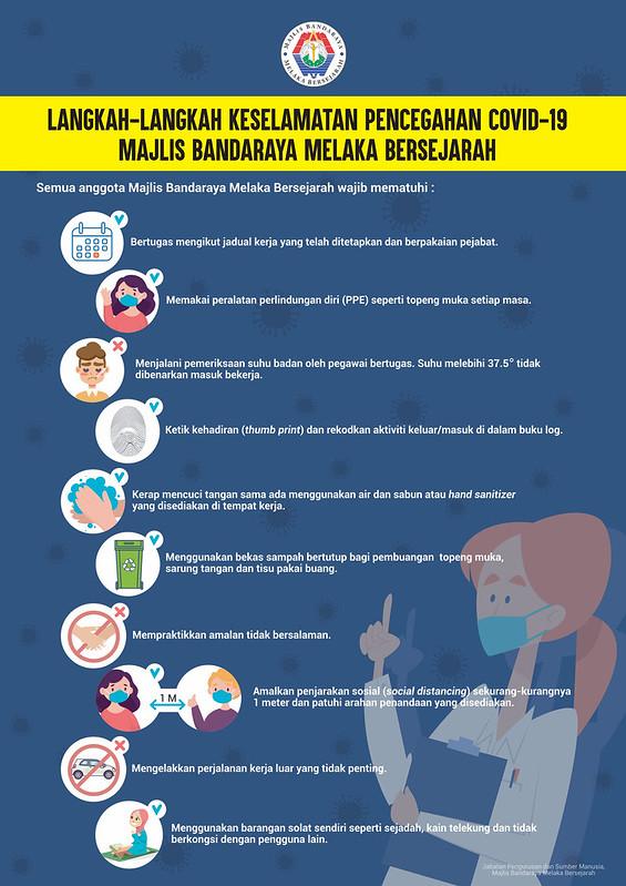 Langkah Langkah Keselamatan Pencegahan Covid 19 Mbmb Portal Rasmi Majlis Bandaraya Melaka Bersejarah Mbmb