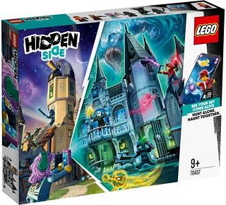 帥氣的捉鬼消防車與神秘古堡登場! LEGO 70433~70437《幽靈秘境》2020 下半年五款盒組公開(LEGO Hidden Side 2020 Summer Sets)