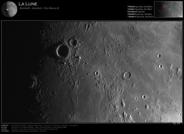La Lune - Reinhold / Gambert / Fra Mauro K