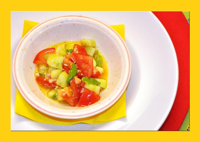 Tomaten-Gurken-Salat mit Senfmarinade ... Brigitte Stolle