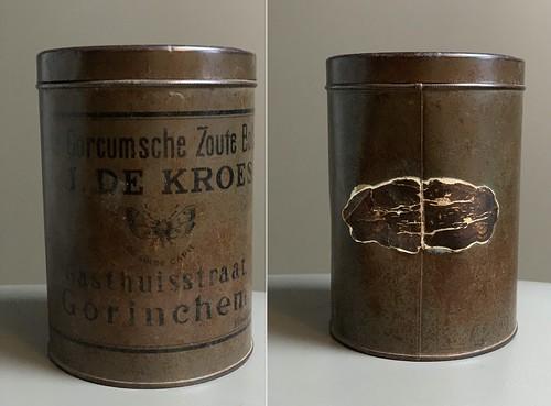 Blik - J.J. de Kroes, Zoute Bollen