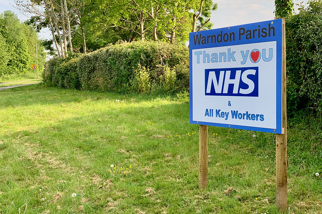 Thank you NHS & all Key Workers