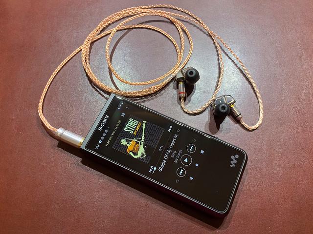 Earphone re-cabling #4