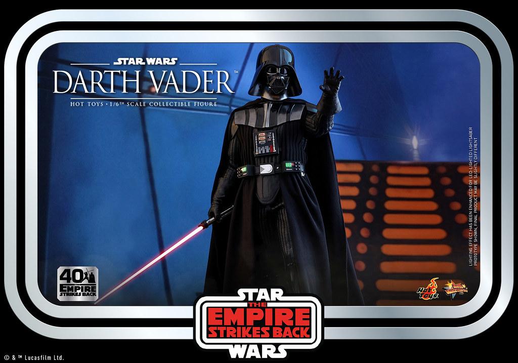 附屬「雲之城」主題場景地台! Hot Toys - MMS572 -《星際大戰五部曲:帝國大反擊》達斯·維德 (Darth Vader) 1/6 比例人偶