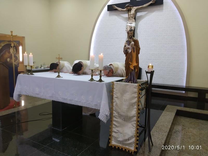 Missa de São José Operário na Paróquia São José