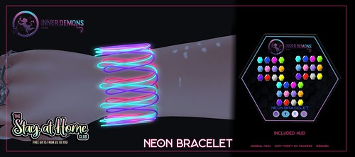 {ID} Neon Bracelet @ Stay At Home