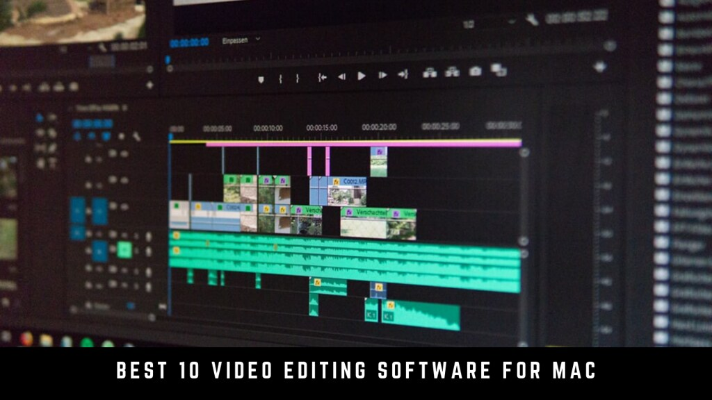 Best 10 Video Editing Software for Mac