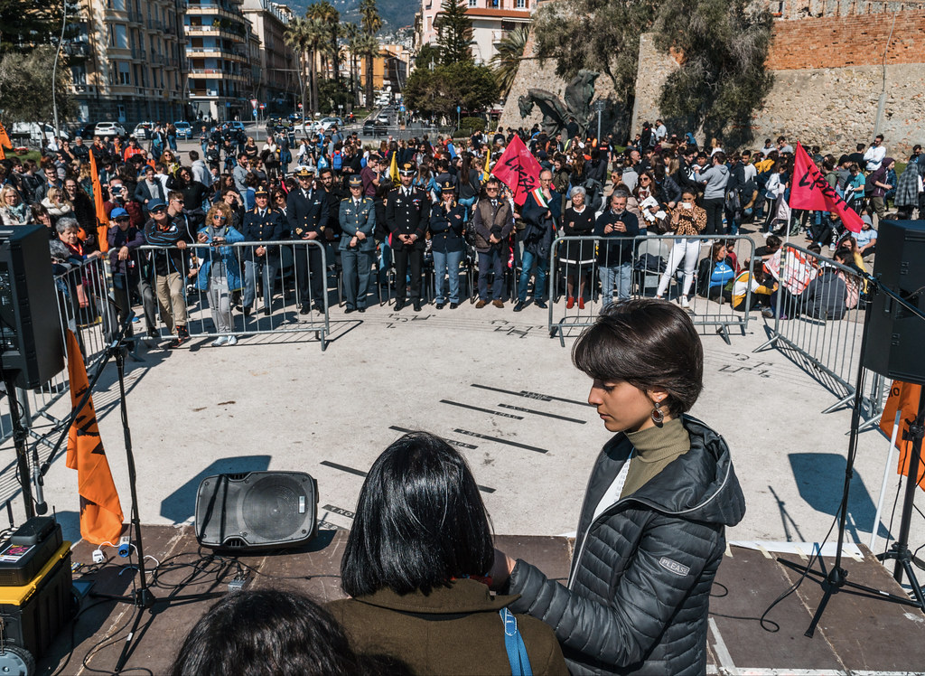 LIBERA, commemorazione del 21 marzo a Sanremo