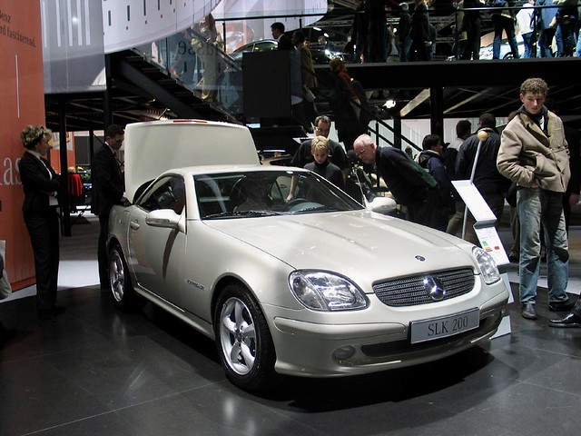 2003 Mercedes-Benz SLK 200