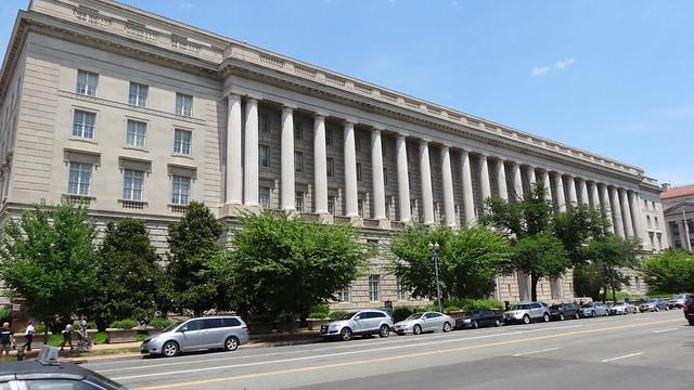 Internal Revenue Service Building, Pennsylvania Avenue NHS, Washington, DC