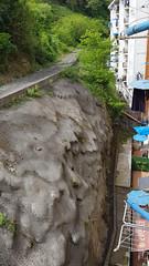 Este tramo permanece cerrado y no se puede acceder a la zona hasta que se realicen los trabajos de adecuación y seguridad.