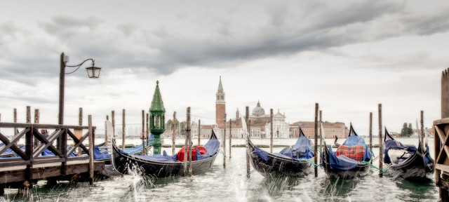Venice in happier days