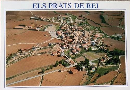 foto aèria Els Prats de Rei