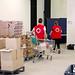04_05_2020 Nuevo centro de Distribución de Alimentos de la Cruz Roja y el Ayuntamiento de L'Hospitalet en la Biblioteca Tecla Sala