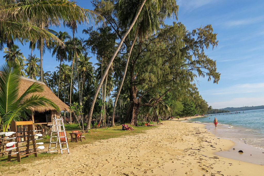 Ao Tapao beach in front of Paradise Beach Resort