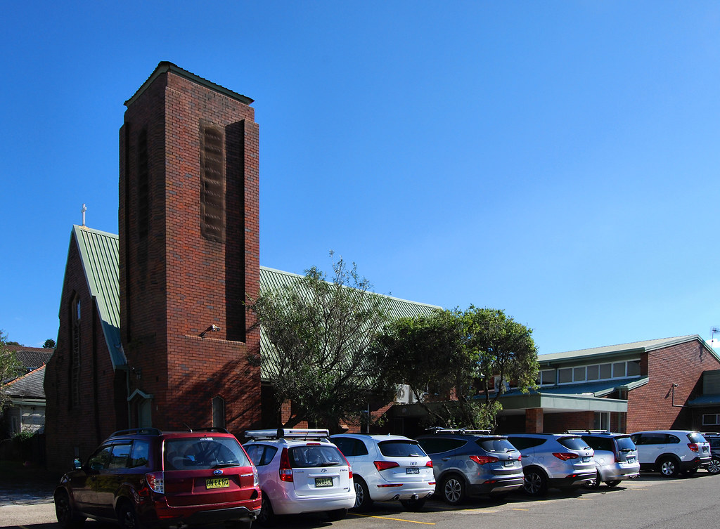 St Faiths Anglican Church, Narrabeen, Sydney, NSW.