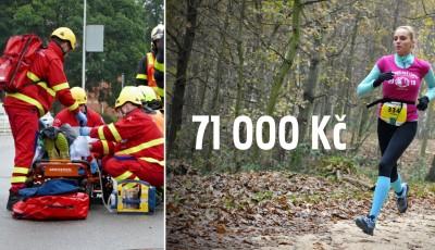 Sportovci vyběhali na pomoc zdravotníkům 71 000 Kč