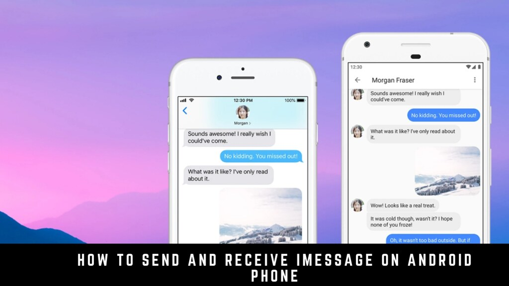 How to Send and Receive iMessage on an Android Phone