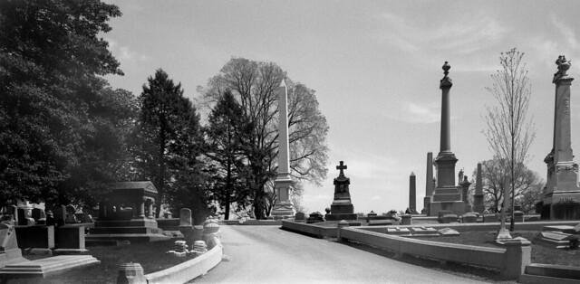 Laurel Hill Cemetery, Philadelphia, PA. April 2020