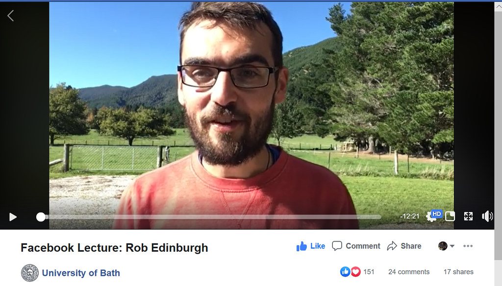 Facebook Live talk