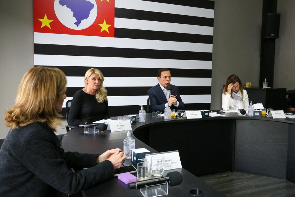 Reunião Virtual do Comitê Empresarial Solidário 04/05/2020