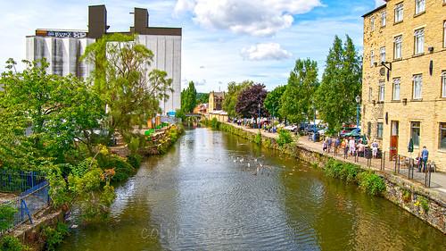 Calder & Hebble Navigation Canal, Brighouse