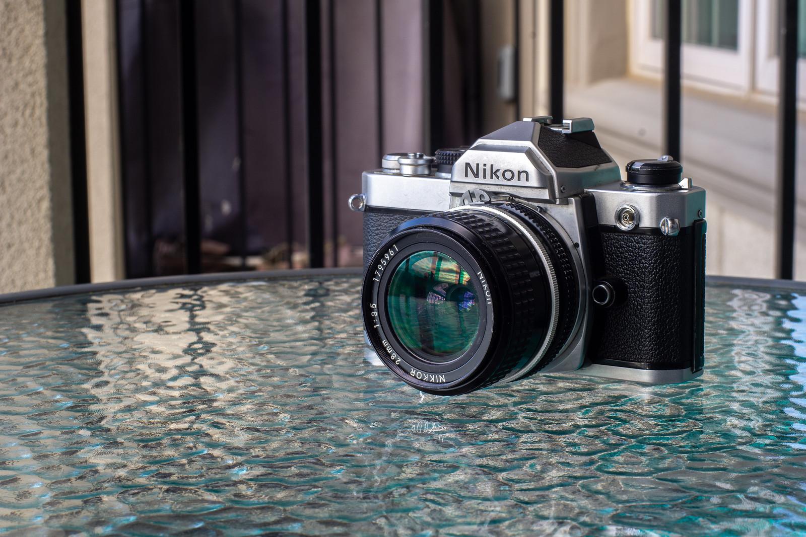 Camera Review Blog No. 123 - Nikon FM