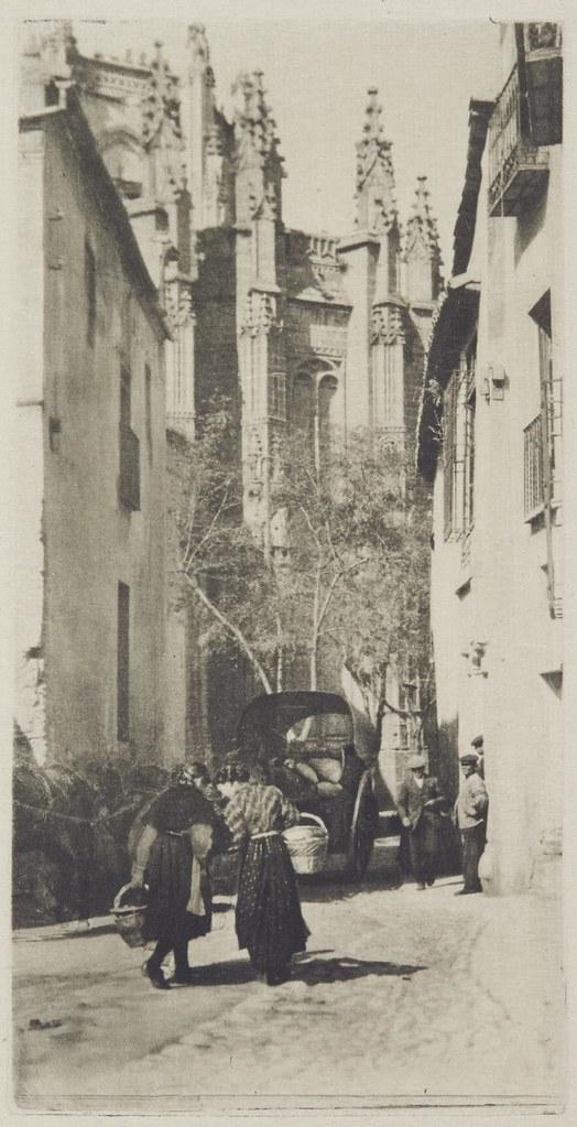 San Juan de los Reyes en 1913 fotografiado por James Craig Annan