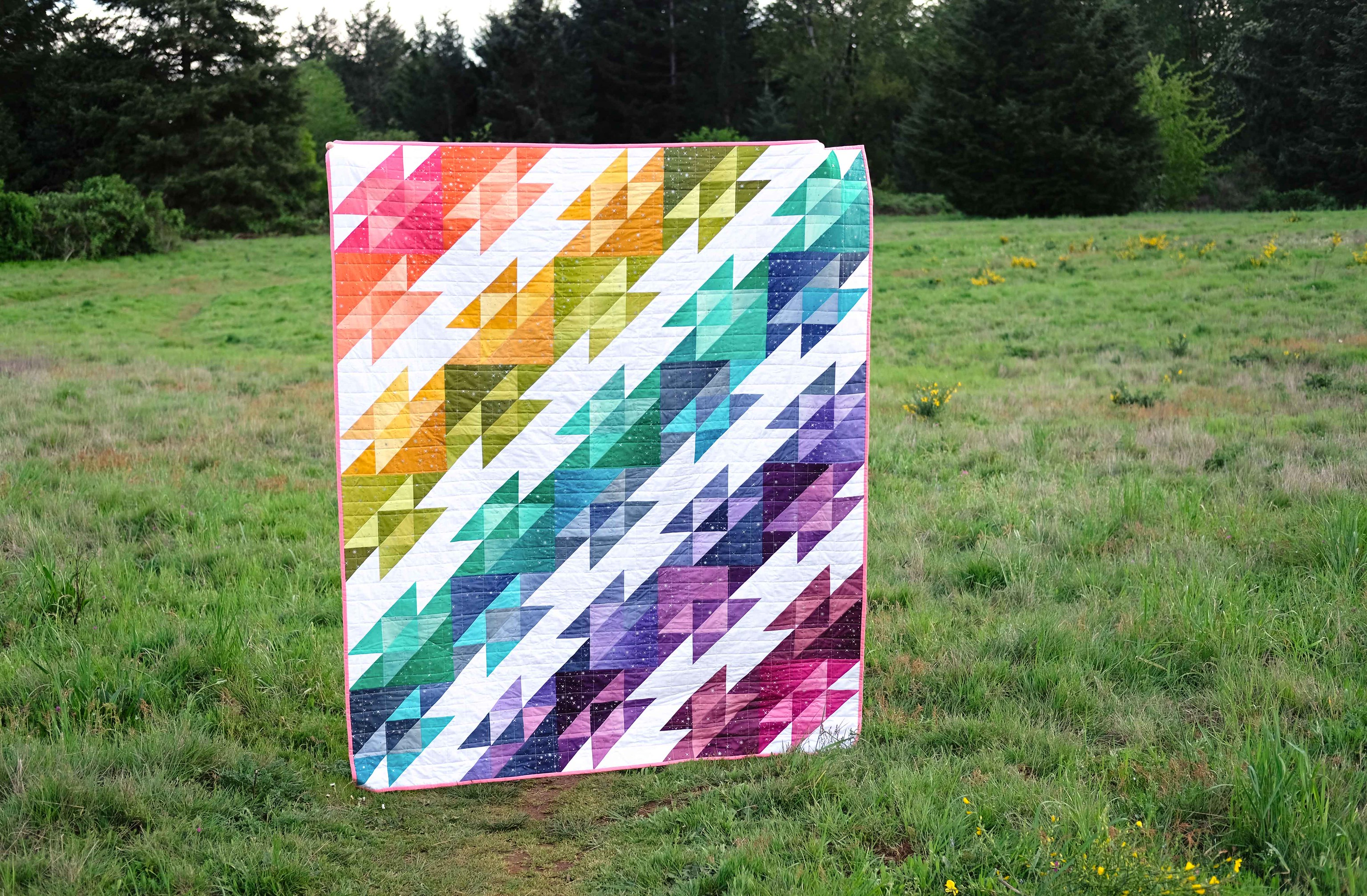 The Georgie Quilt Pattern - Kitchen Table Quilting