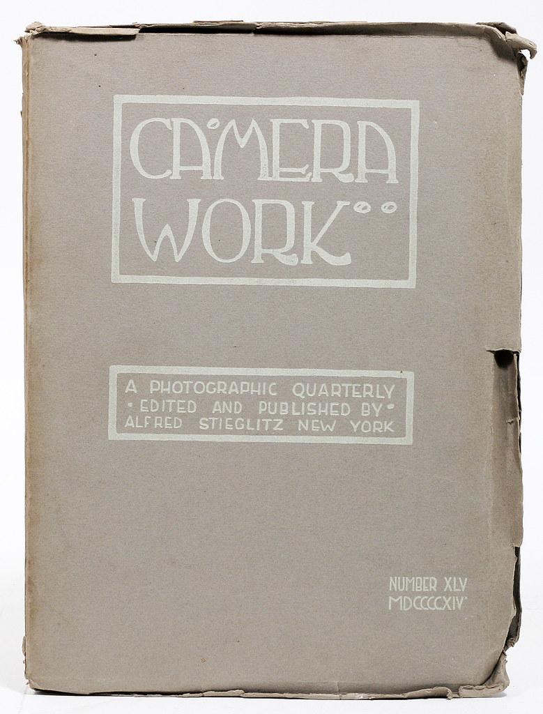 Número 45 de Camera Work de Alfred Stieglitz en 1914. Contenía 2 fotos de James Craig Annan tomadas en Toledo en 1913.