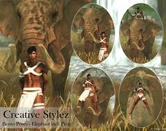 Creative Stylez - Bento Poses - Elefant