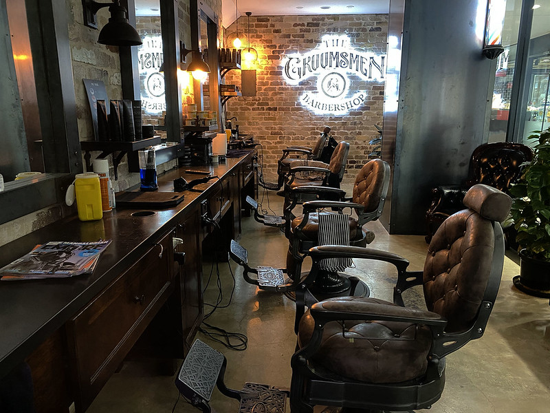 Most hipster barber ever?