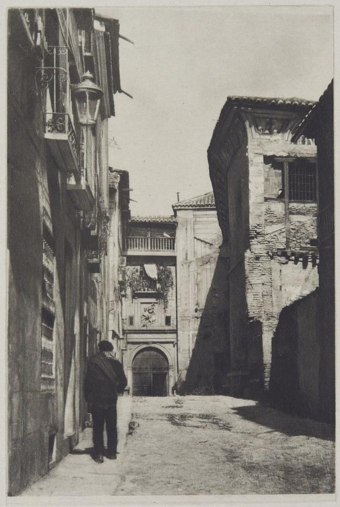 Calle de Santa Fe en 1913 fotografiada por James Craig Annan