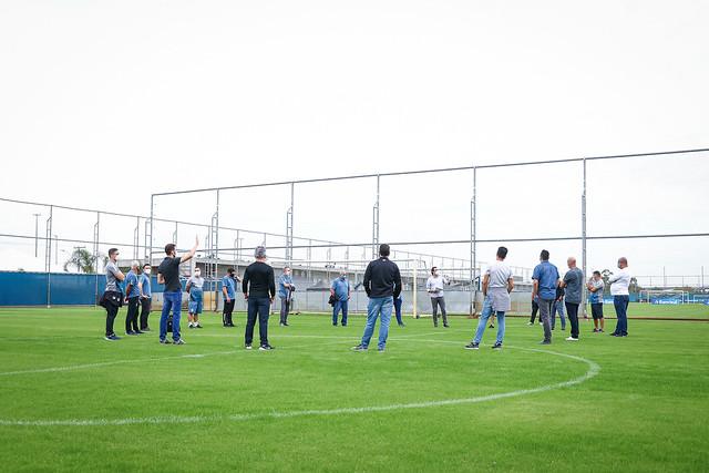 Preparativos retorno Grêmio