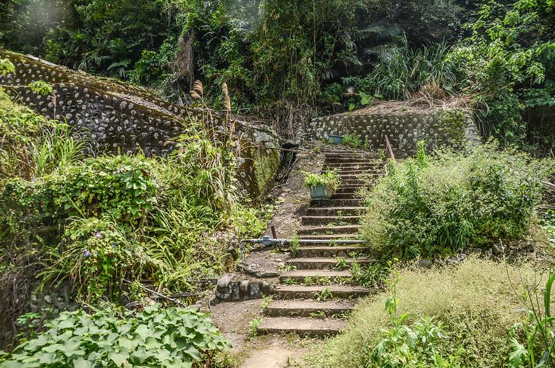 出礦坑(開礦山)階梯路段