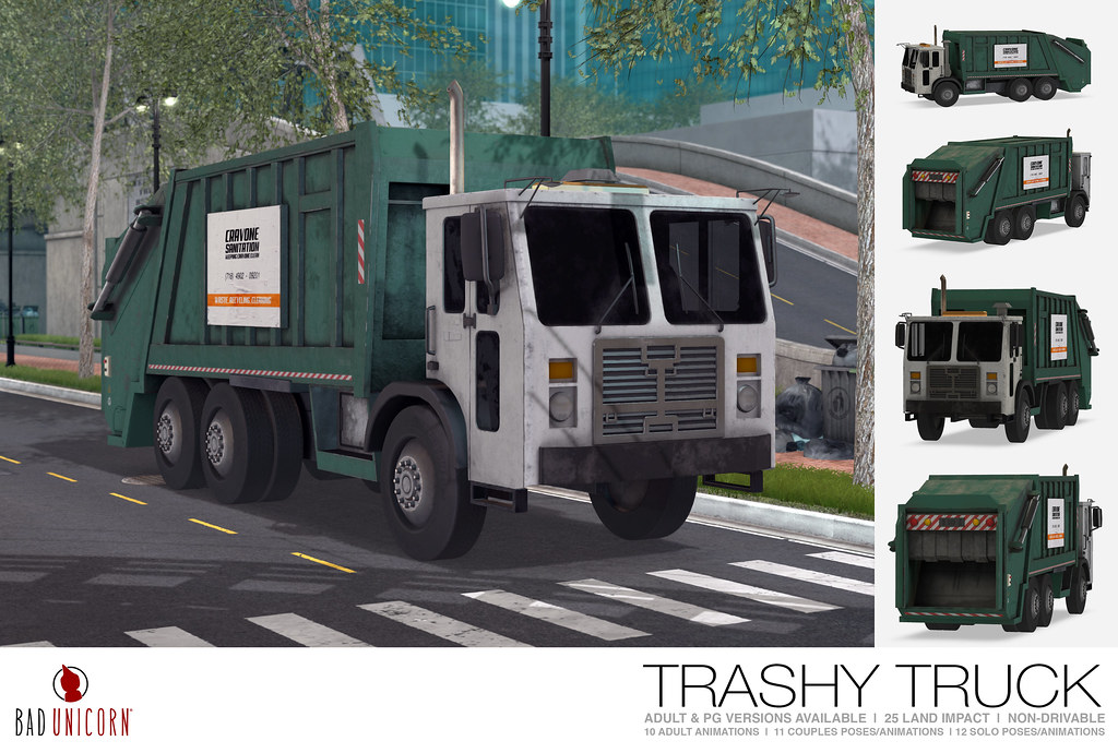 NEW! Trashy Truck @ Anthem