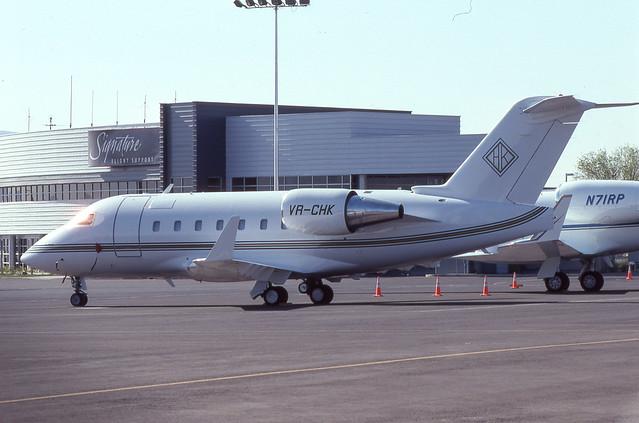 VR-CHK Challenger 601-3A 5102 LAS April 1996