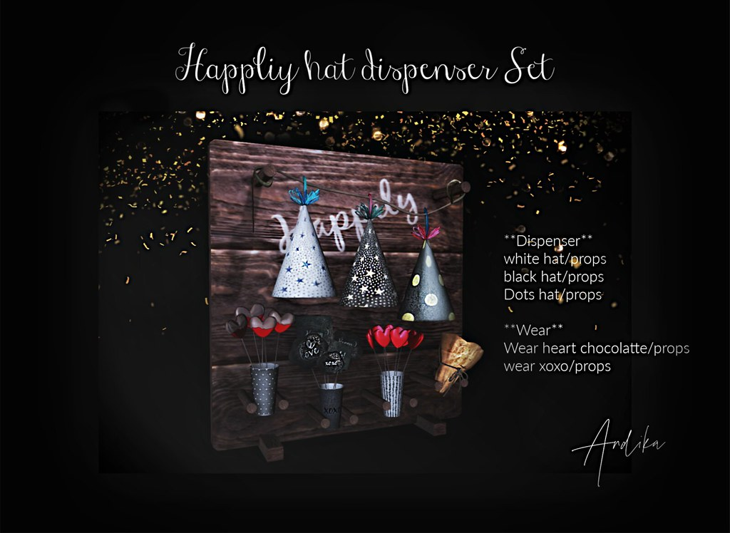 andika[Happily hat Dispenser set]