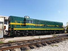 Also freshly painted Montecargo 661-269 on the depot at Podgorica.