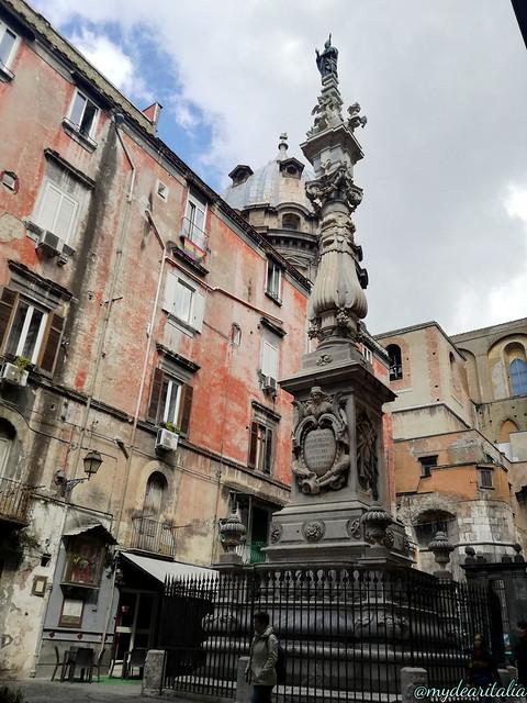 St. Januarius's Obelisk in Naples