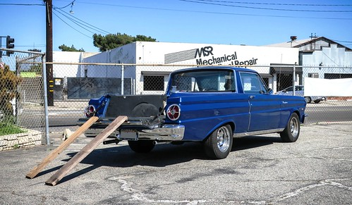ranchero ford blue 1965 falcon