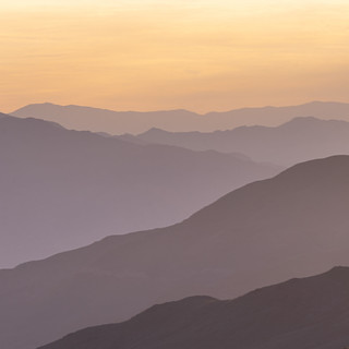 Death Valley Sunrise Layers