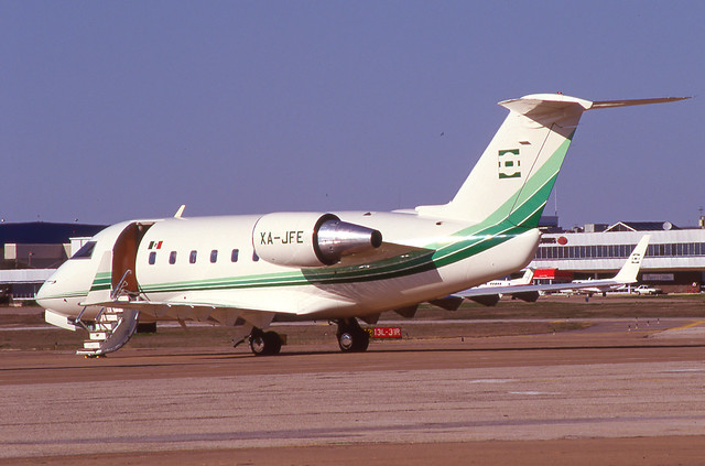 XA-JFE Challenger 601-3A 5059 DAL March 1997