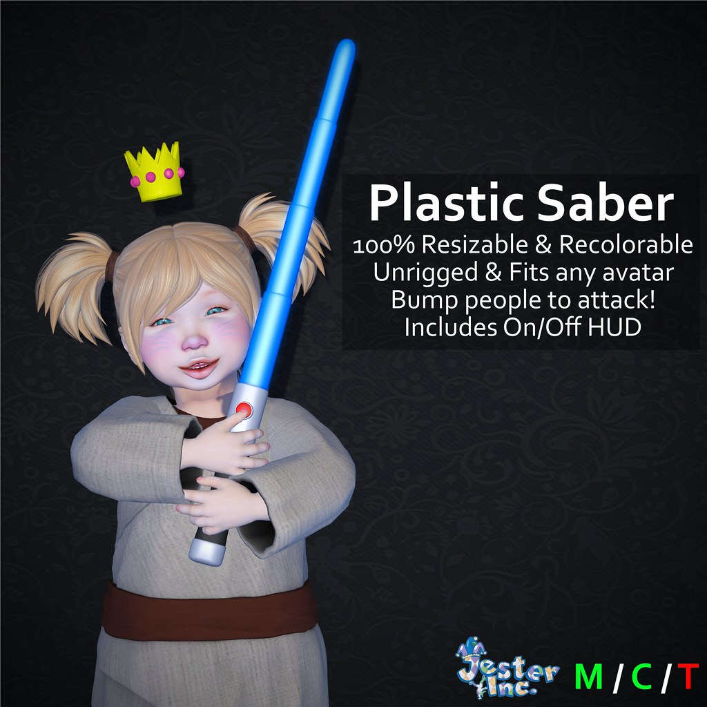 Presenting the new Plastic Saber from Jester Inc.
