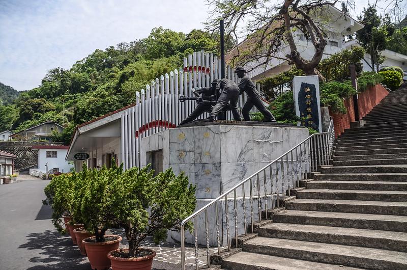 油礦開發陳列館雕塑