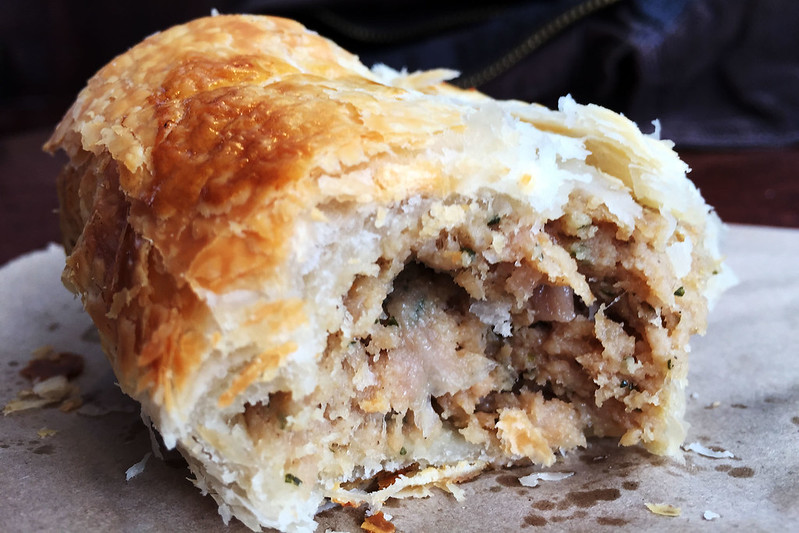 Sausage roll, Paddy's Pies